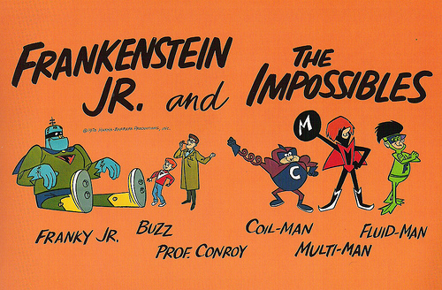 Frankenstein Jr. and the Impossibles characters