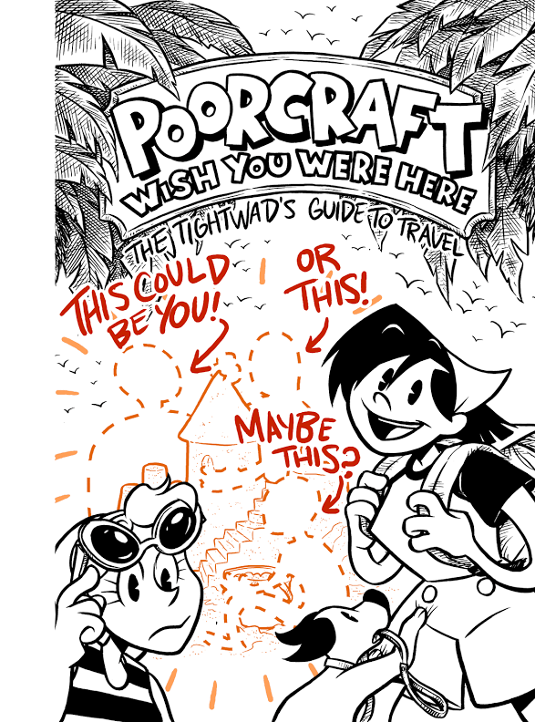 Poorcraft: Wish You Were Here cover draft