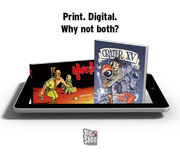 Top Shelf DRM-Free Digital ad