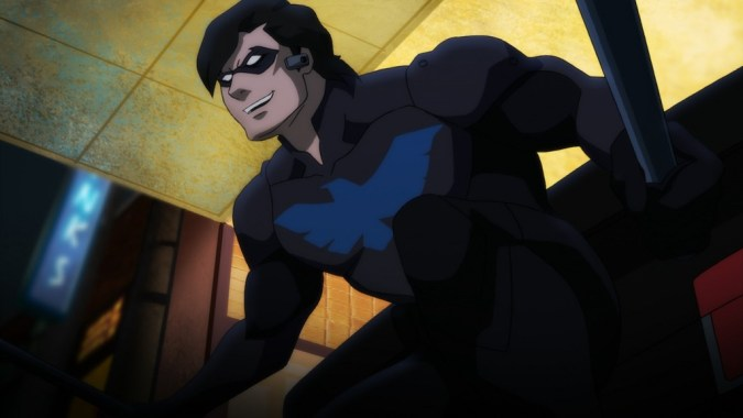 Nightwing in Batman: Bad Blood