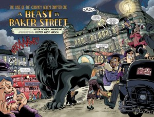 The Baker Street Peculiars pages 2-3