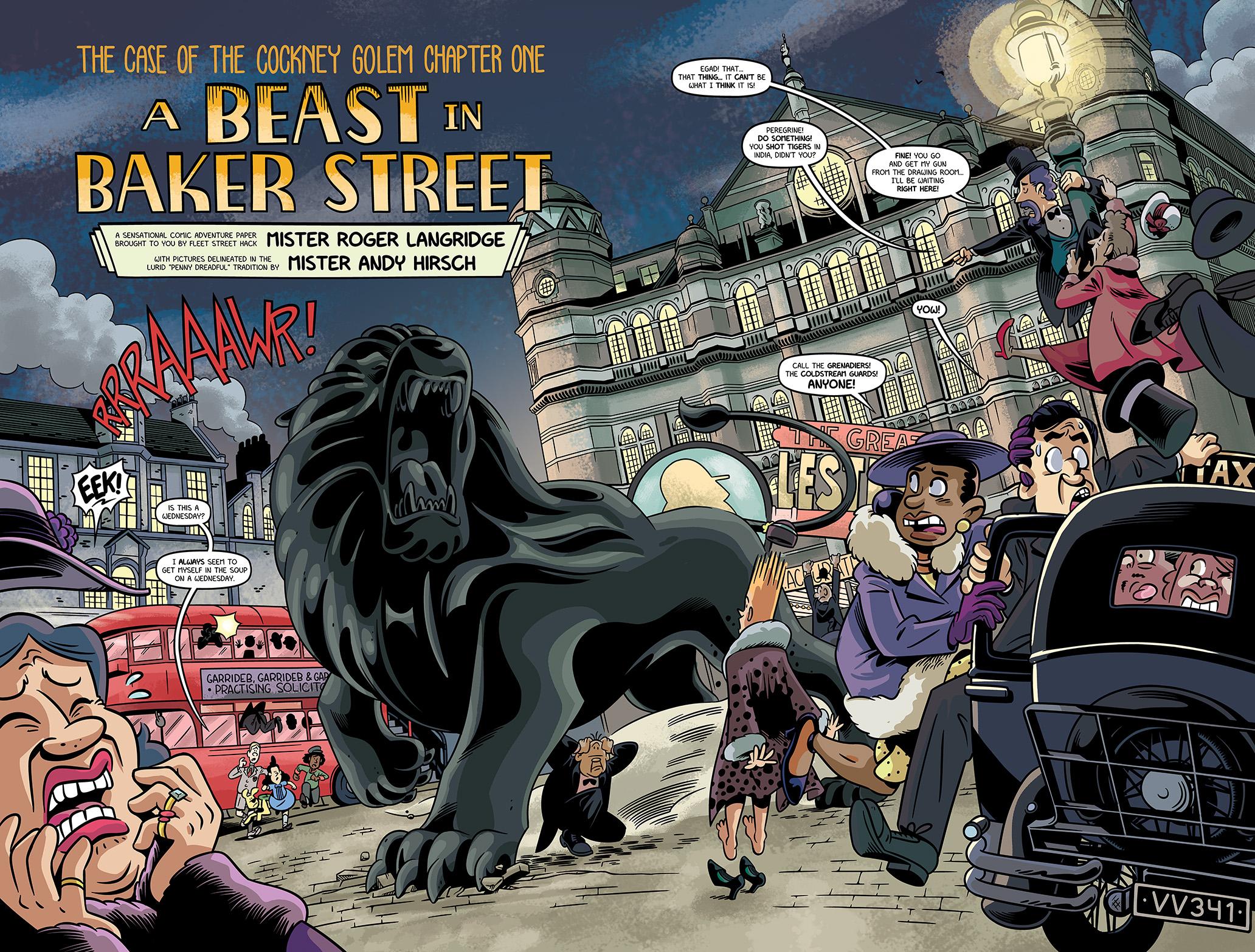 Afbeeldingsresultaat voor the baker street peculiars