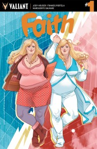 Faith #1 cover by Marguerite Sauvage