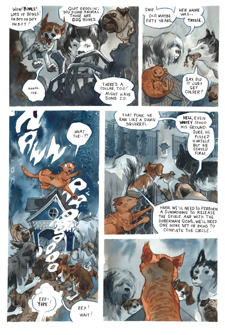read a complete beasts of burden story comics worth reading