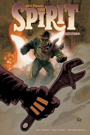 Will Eisner's The Spirit #5