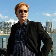 David Caruso on CSI: Miami