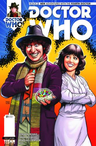 Doctor Who: The Fourth Doctor #1 cover by Jay Gunn