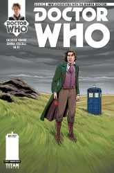 Doctor Who: The Eighth Doctor #1 cover by Warren Pleece