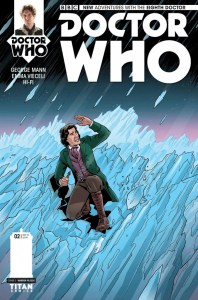 Doctor Who: The Eighth Doctor #2 cover by Warren Pleece