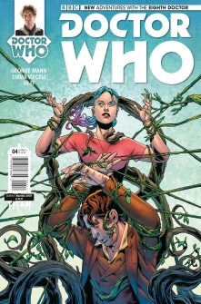 Doctor Who: The Eighth Doctor #4 cover by Rachael Stott