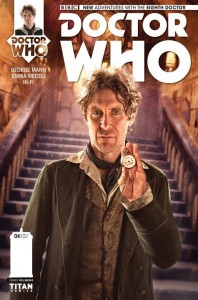 Doctor Who: The Eighth Doctor #4 cover by Will Brooks