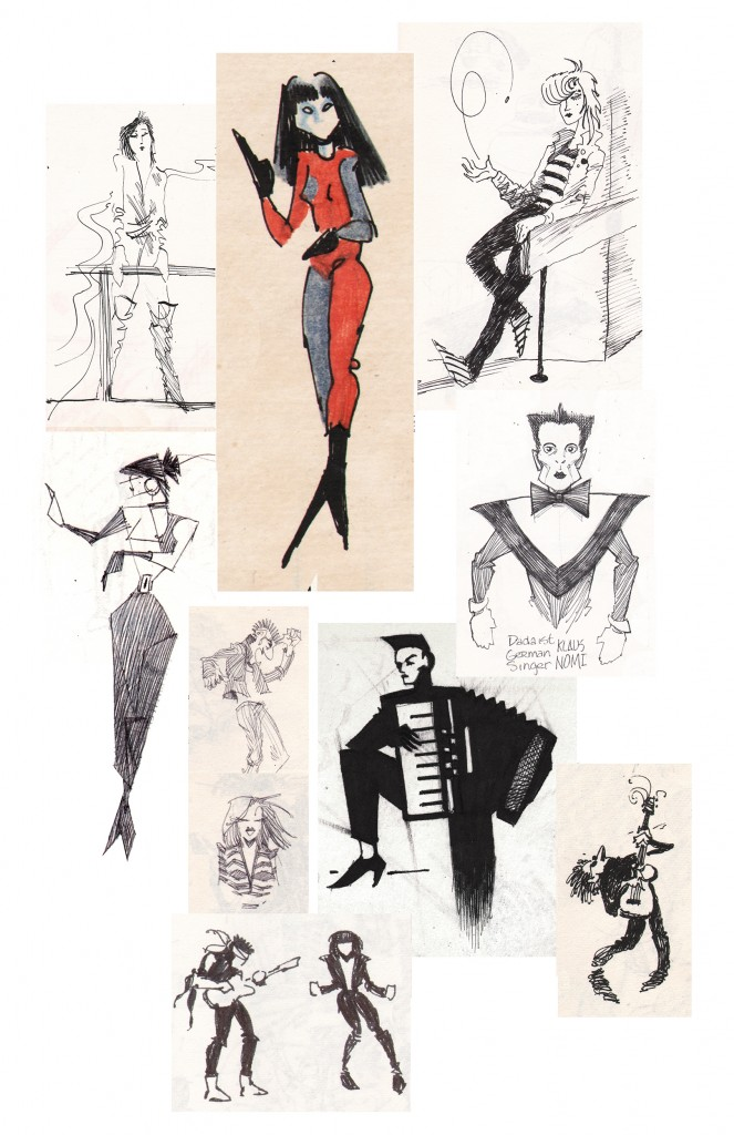 John K Snyder sketchbook