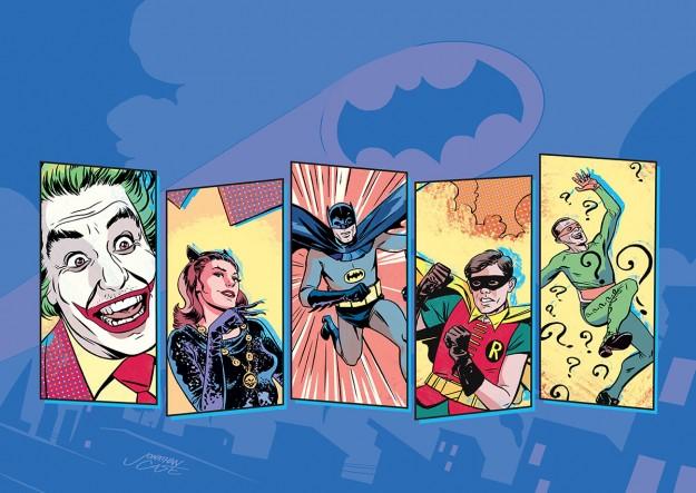 Batman '66 promo art