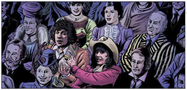 Panel from Doctor Who: The Fourth Doctor #1