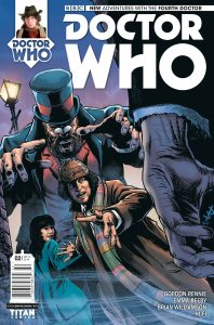 Doctor Who: The Fourth Doctor #2 cover by Brian Williamson
