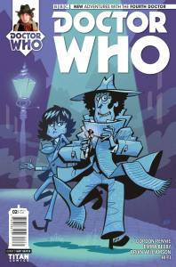 Doctor Who: The Fourth Doctor #2 cover by Matt Baxter