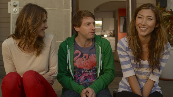 Mila (Beau Garrett), Astor (Fran Kranz), and Cali (Dichen Lachman) in Lust for Love