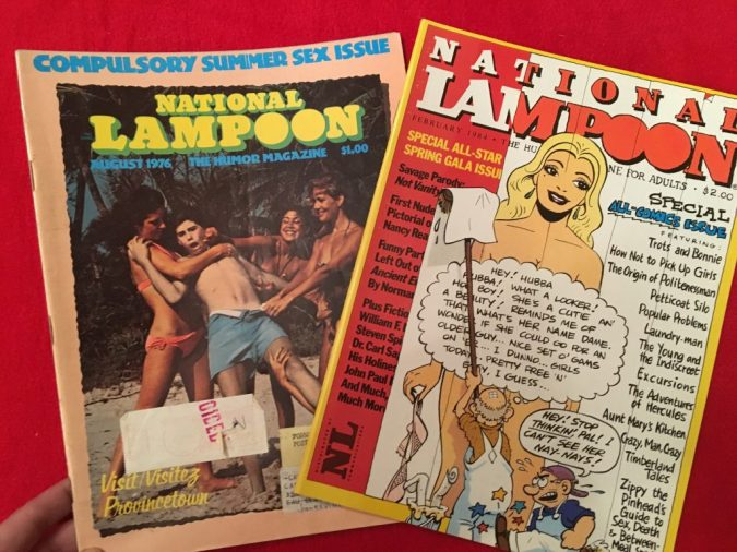 National Lampoon sex covers