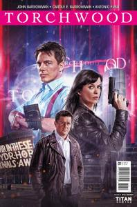 Torchwood #1 cover by  Will Brooks