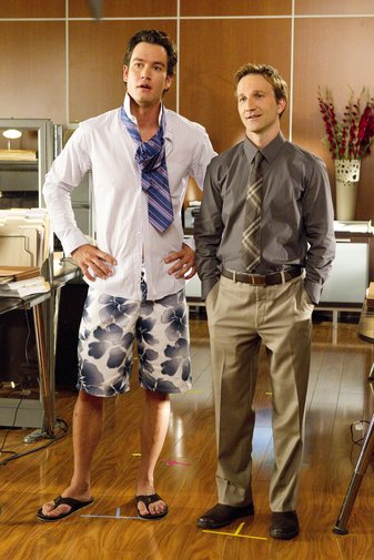 Bash (Mark-Paul Gosselaar) and Franklin (Breckin Meyer)