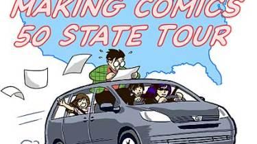 Scott McCloud's Making Comics tour