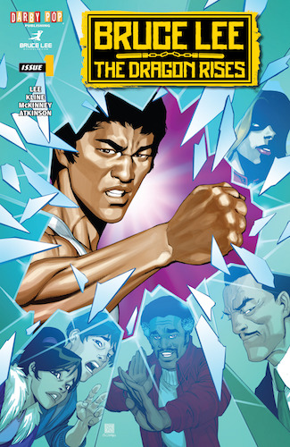 Bruce Lee: The Dragon Rises #1