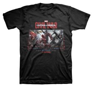 Civil War t-shirt front mockup