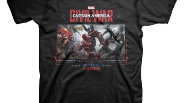 Civil War t-shirt front mockup