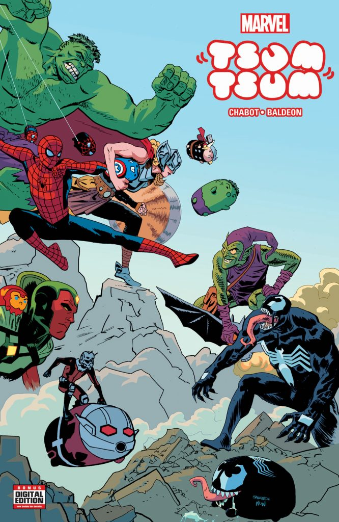 Marvel Tsum Tsum #1 cover