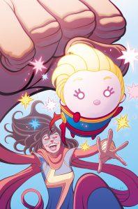 Ms. Marvel #10 Tsum Tsum Takeover Variant