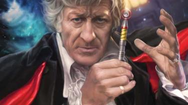 Doctor Who: The Third Doctor #1 cover by Josh Burns