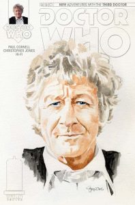 Doctor Who: The Third Doctor #1 cover by Simon Myers
