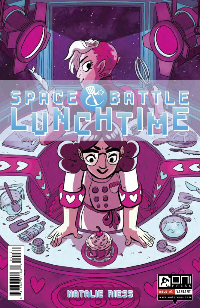 Space Battle Lunchtime #1 variant cover by Carey Pietsch