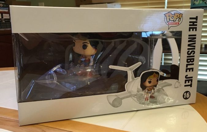 Pop! Wonder Woman Invisible Jet