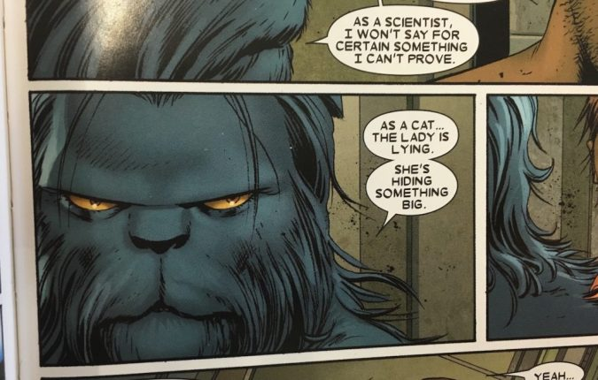 Beast in Astonishing X-Men #24