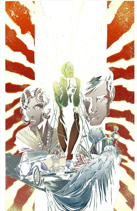 Madame Frankenstein #1 cover by Joelle Jones