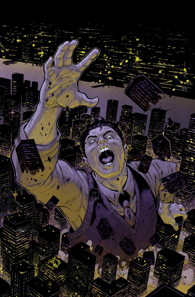 Strange Attractors #1 Variant Cover by Ryan Stegman