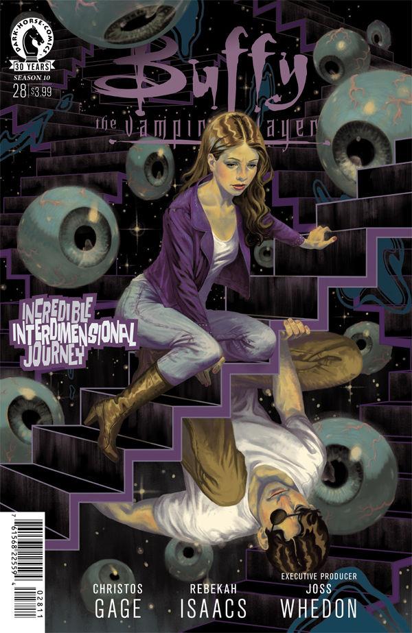 Buffy the Vampire Slayer Season 10 #28 cover by Steve Morris