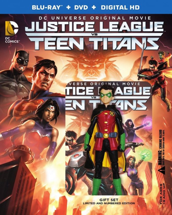 Justice League vs. Teen Titans Deluxe Edition