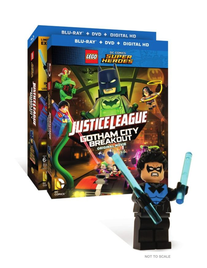 Lego DC Super Heroes: Justice League: Gotham City Breakout Nightwing figure