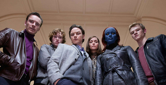 Magneto, Banshee, Xavier, Moira, Mystique, and Havok