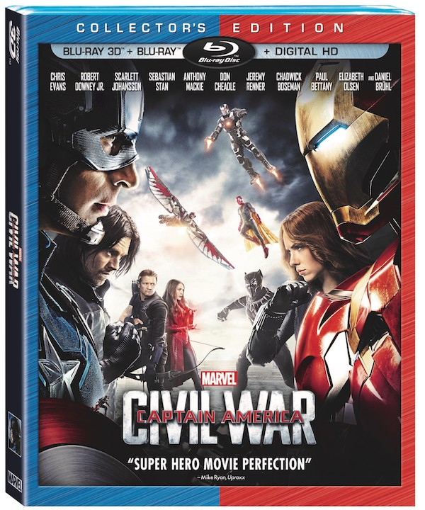 Captain America: Civil War Collector's Edition