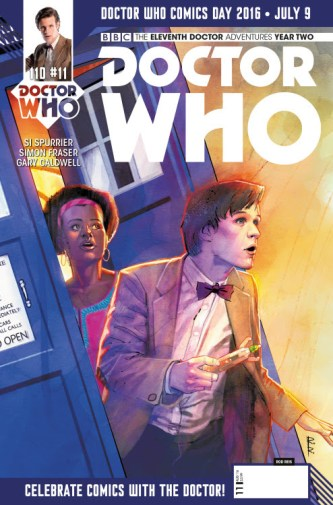 Doctor Who: The Eleventh Doctor Year Two #11 DWCD cover by Rod Reis