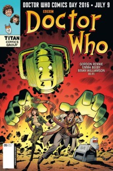 Doctor Who: The Fourth Doctor #4 DWCD cover by Andrew Pepoy & Jason Millet