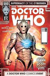 Doctor Who: Supremacy of the Cybermen #1 cover by Fabio Listrani