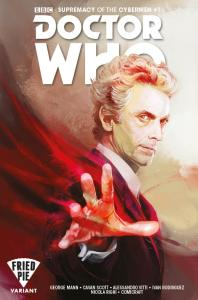 Doctor Who: Supremacy of the Cybermen #1 Fried Pie variant
