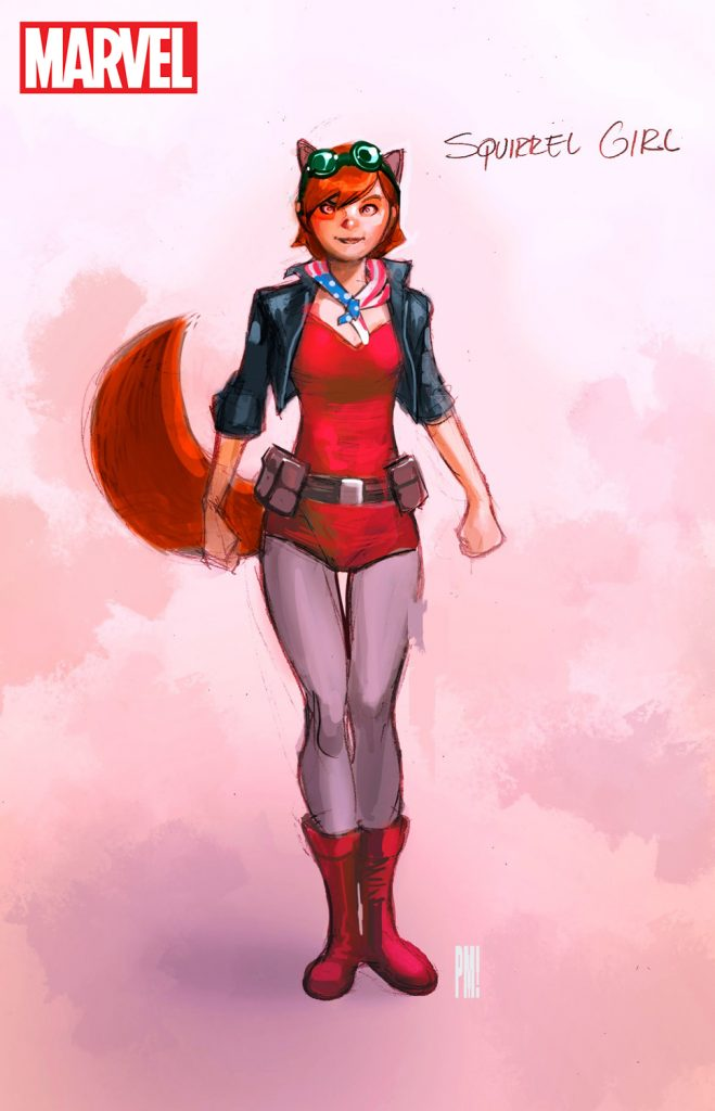 Squirrel Girl by Paco Medina