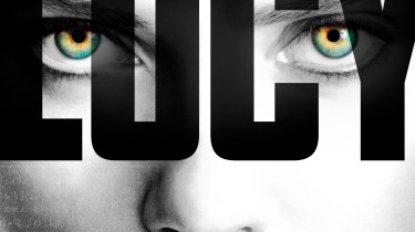 Lucy movie poster starring Scarlett Johansson