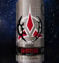 Klingon Warnog Star Trek beer