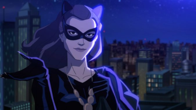 Catwoman in Batman: Return of the Caped Crusaders